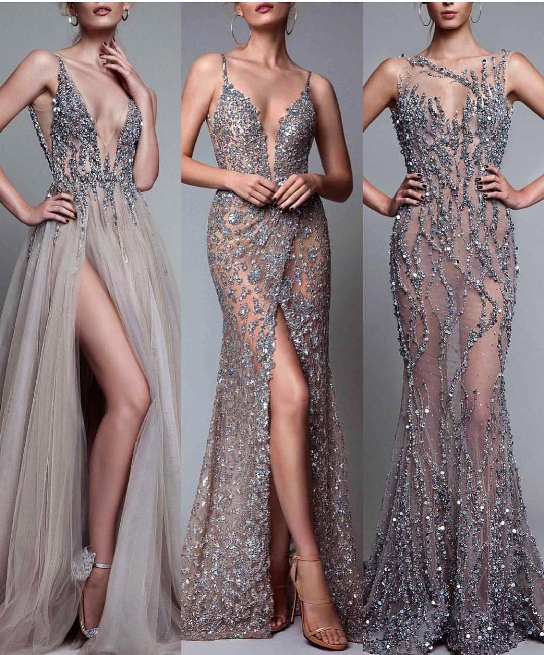1,2 Or 3 ? Who's Your Favorite Evening Dress? Let Us Know