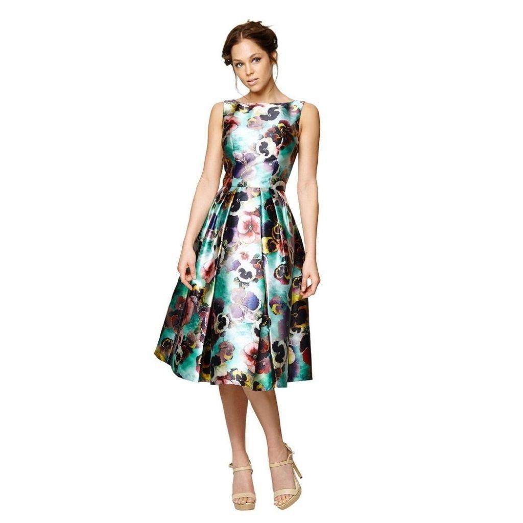 13 Luxus Midi Kleider Festlich Ärmel - Abendkleid