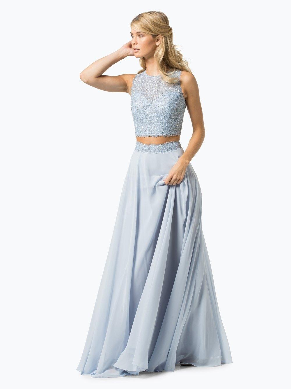 13 Schön Abendkleid Zweiteilig Bauchfrei Design - Abendkleid
