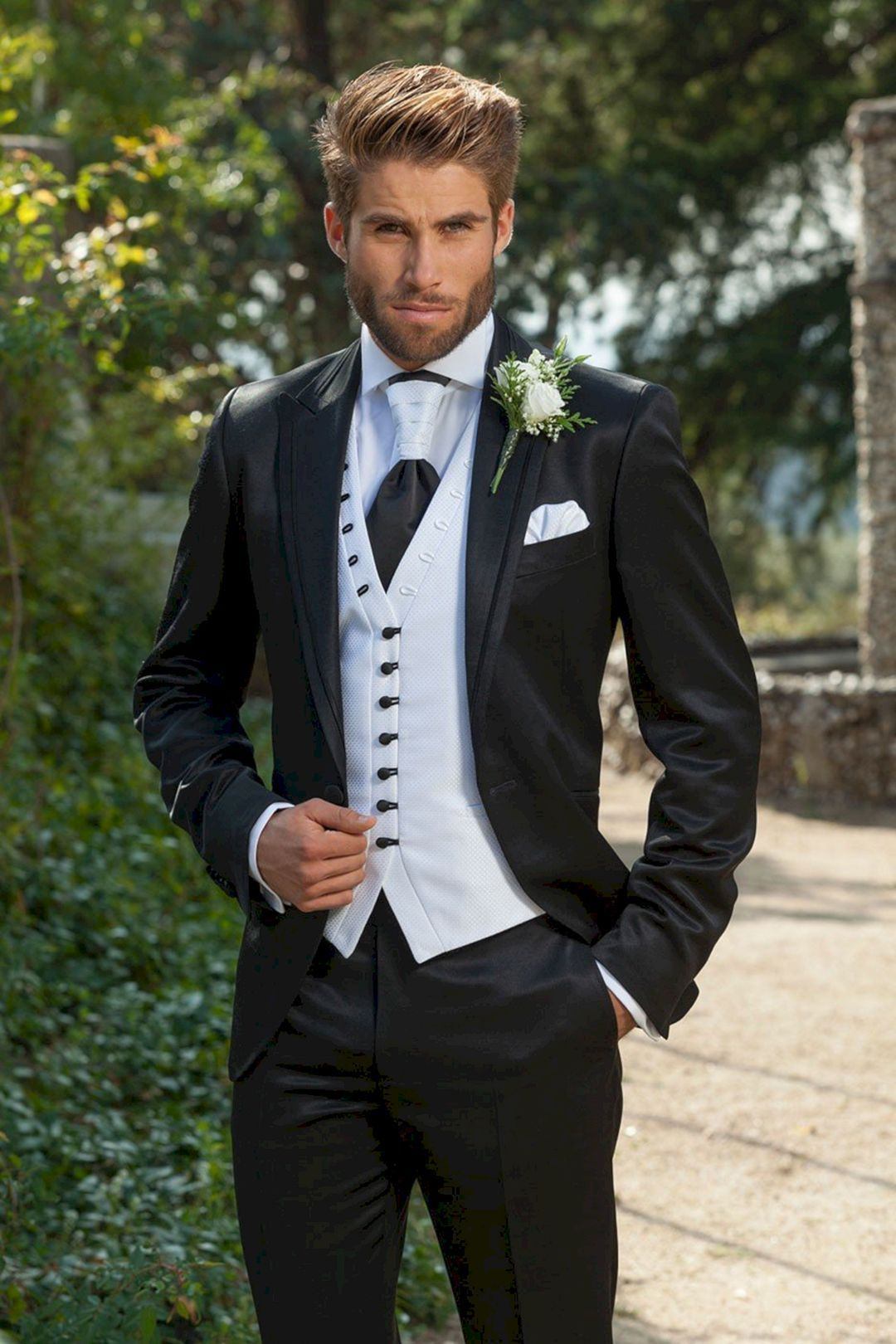 15 Men Wedding Dress Style Ideas That Look More Handsome