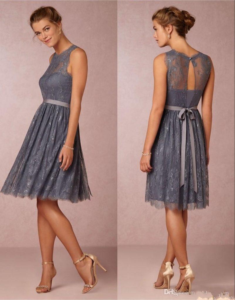 17 Fantastisch Graues Kleid Hochzeit Vertrieb - Abendkleid