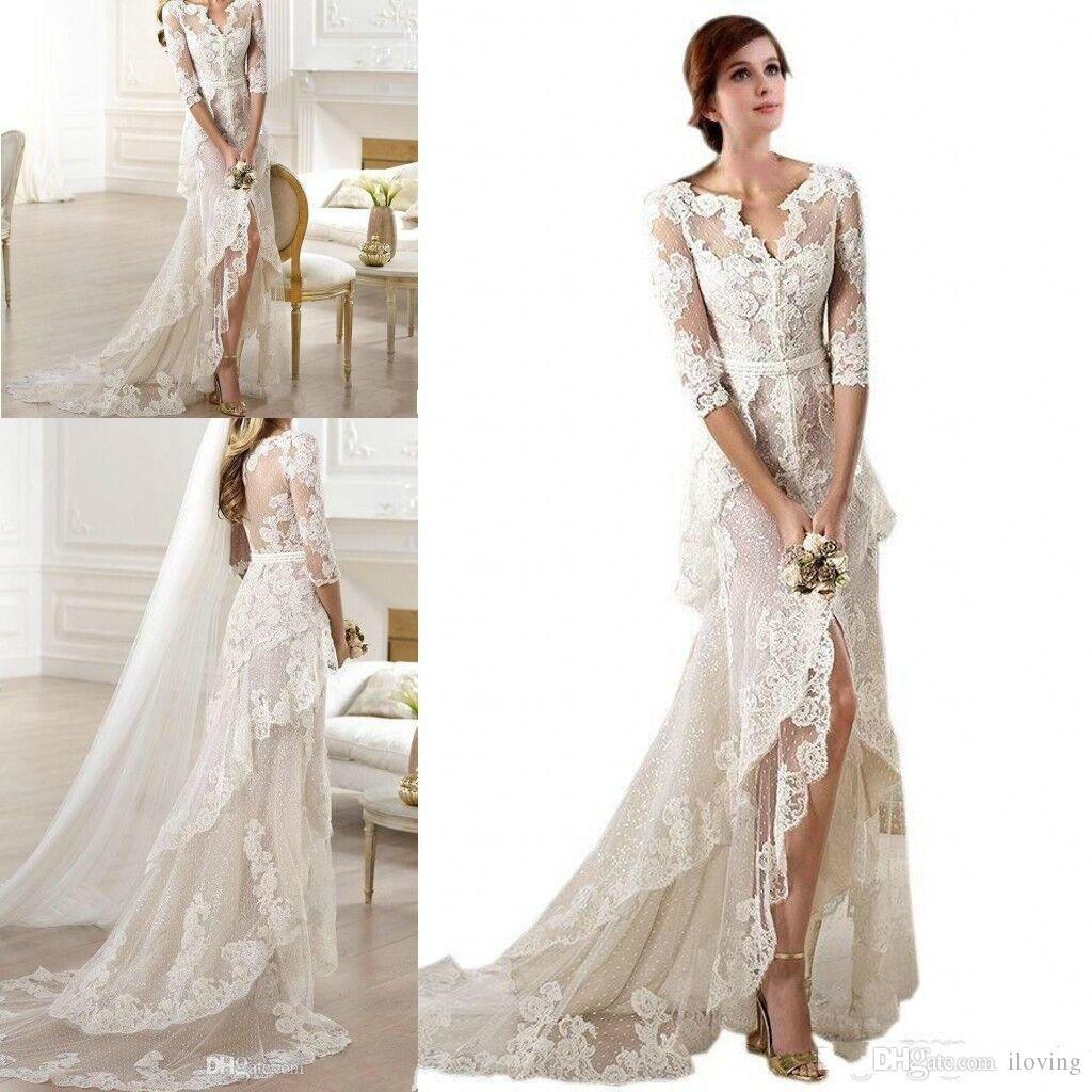 Kleider Für Hochzeit Im Herbst - Abendkleid