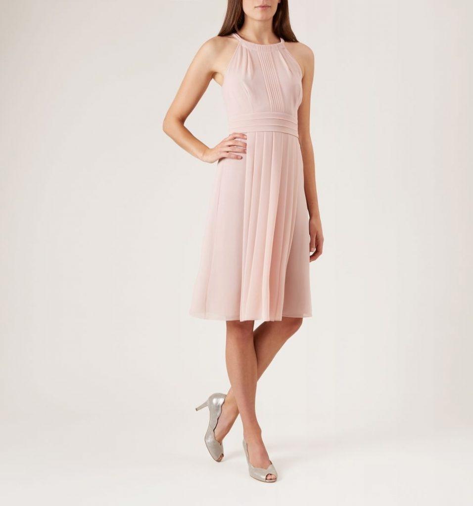 17 Großartig Kleid Festlich Rosa Ärmel - Abendkleid