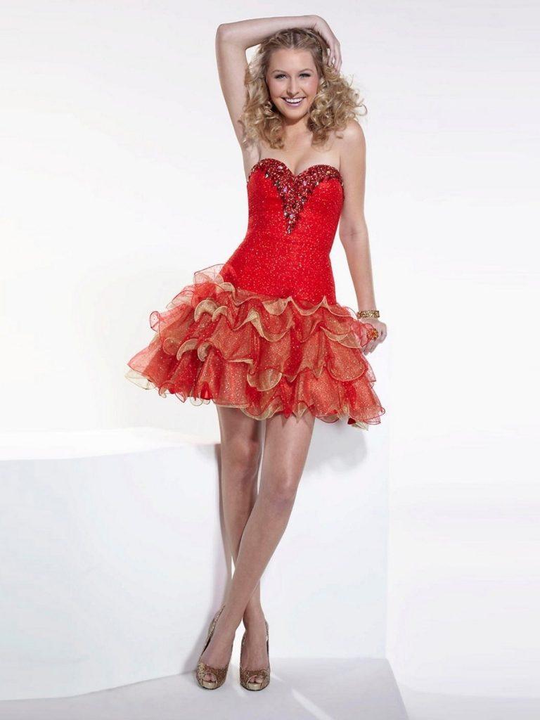 20 Einzigartig Kleid Für Hochzeit Rot Galerie - Abendkleid