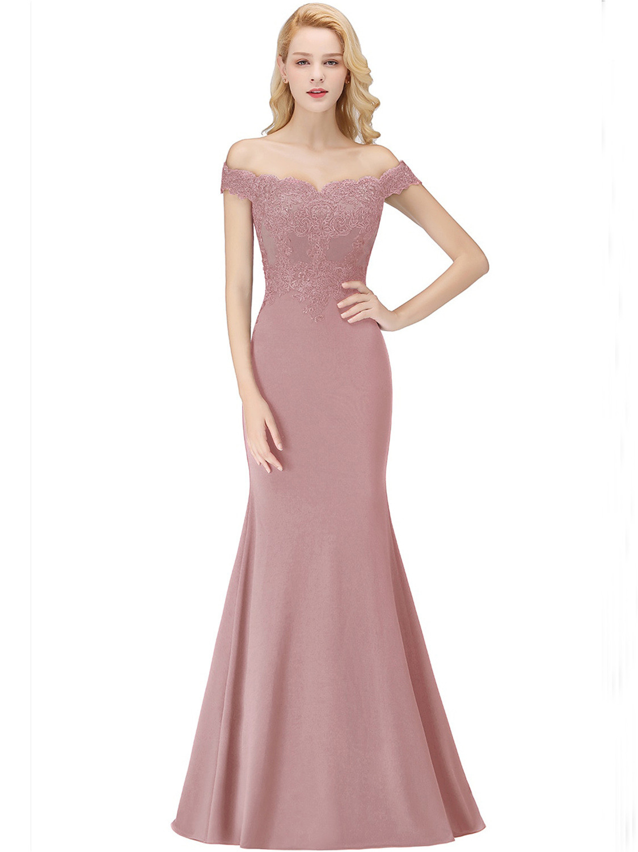 Schön Abendkleid Altrosa Lang ÄrmelAbend Perfekt Abendkleid Altrosa Lang für 2019