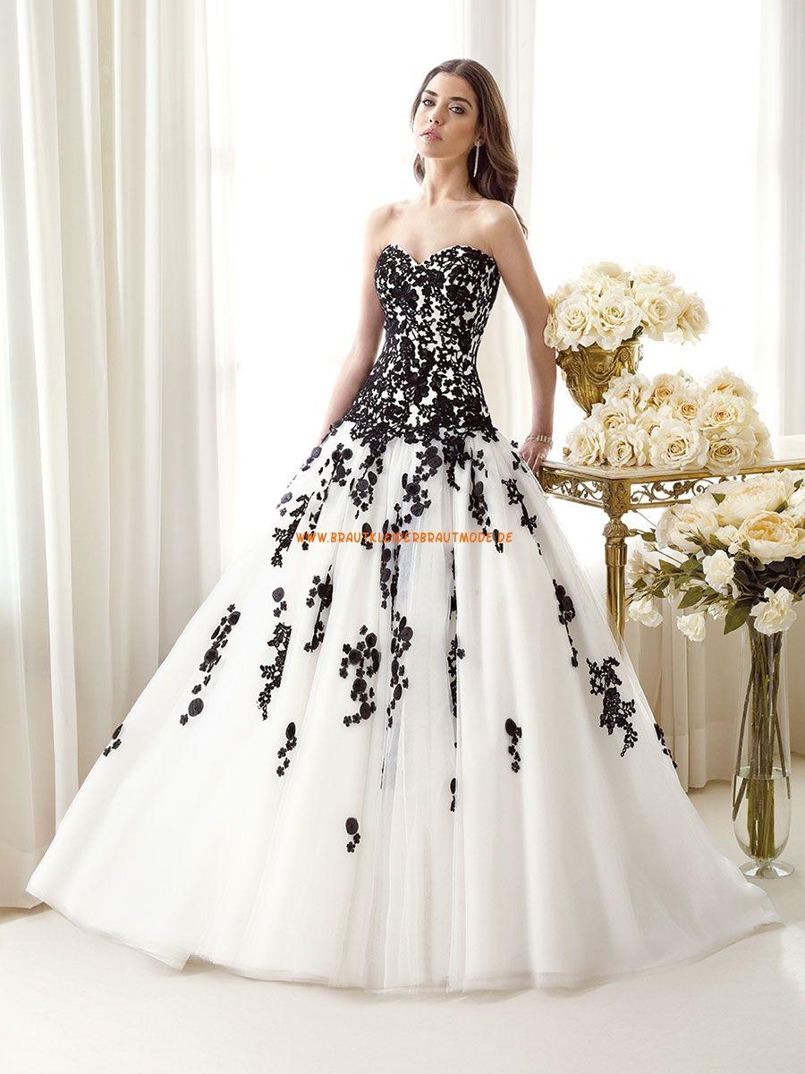 2014 Klassische Brautkleider Aus Satin A-Linie Mit