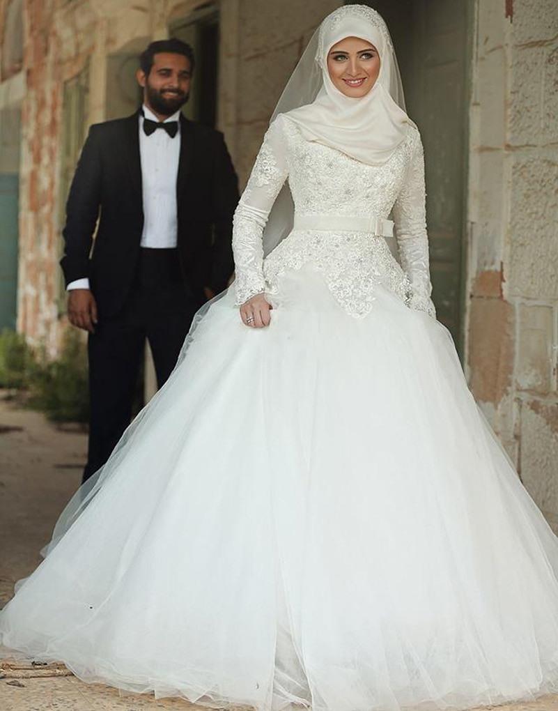 2017 Rollkragen Langarm Hochzeitskleid Der Braut Brautkleid