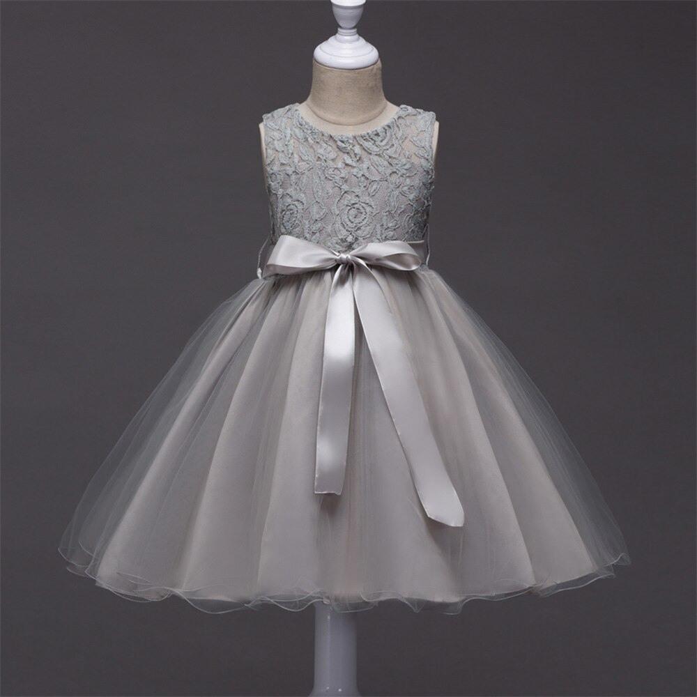 3 10 Jahre Baby Mädchen Blau Prinzessin Kleider Für Hochzeit