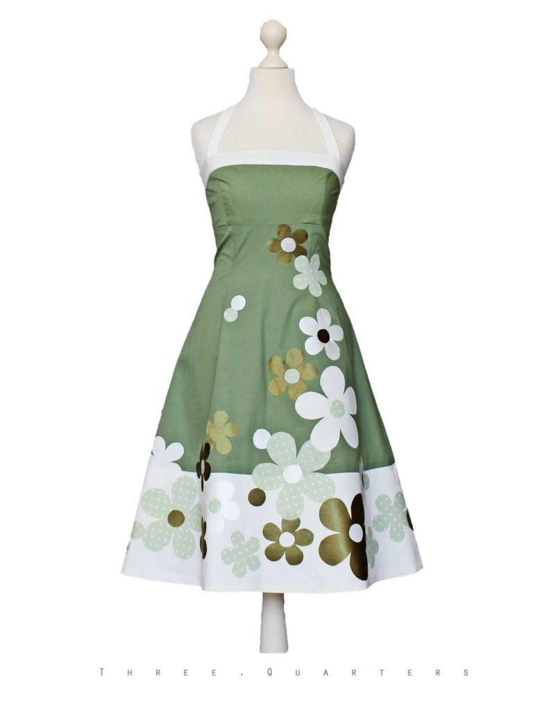 Abend Schön Kleid Hochzeit Grün Stylish - Abendkleid