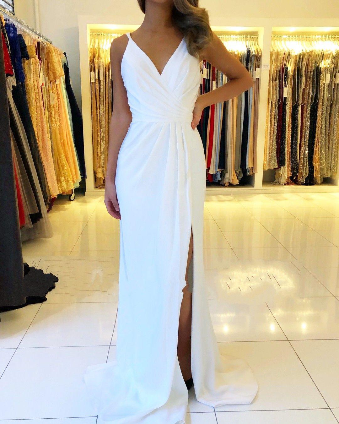 Formal Einzigartig Weißes Abendkleid Lang Ärmel10 Kreativ Weißes Abendkleid Lang Bester Preis