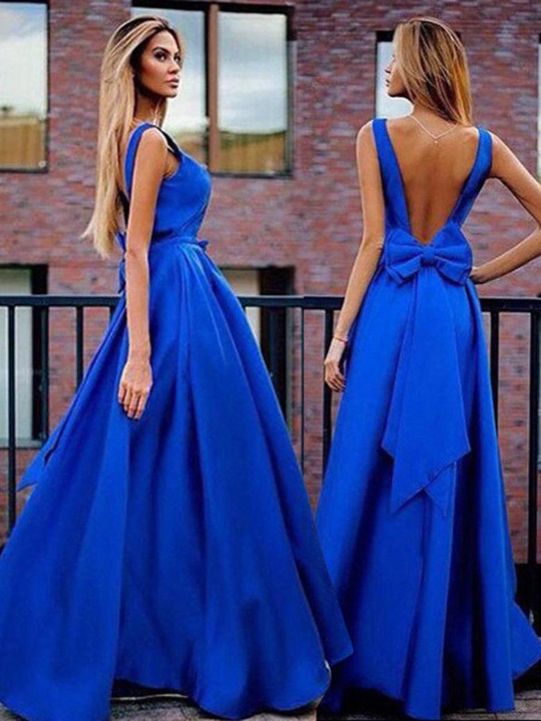 17 Schön Abendkleid In Blau Ärmel10 Einzigartig Abendkleid In Blau Bester Preis