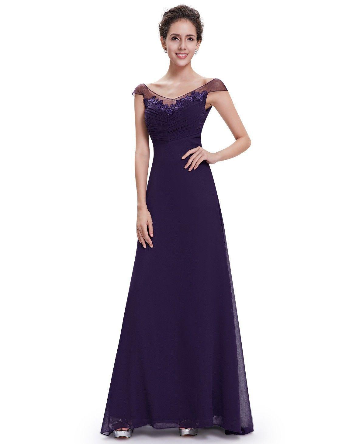 Abendmode / Lilanes Abendkleid Schlicht Online | Abendkleid