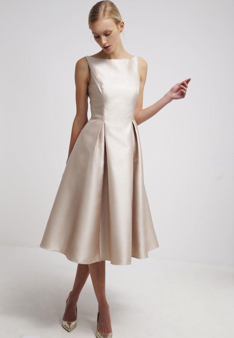 Adrianna Papell Cocktailkleid / Festliches Kleid - Champagne