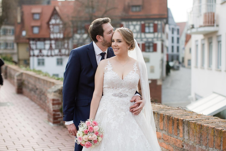 After Wedding Shooting Ulm - Brautpaarshooting Im Fischerviertel