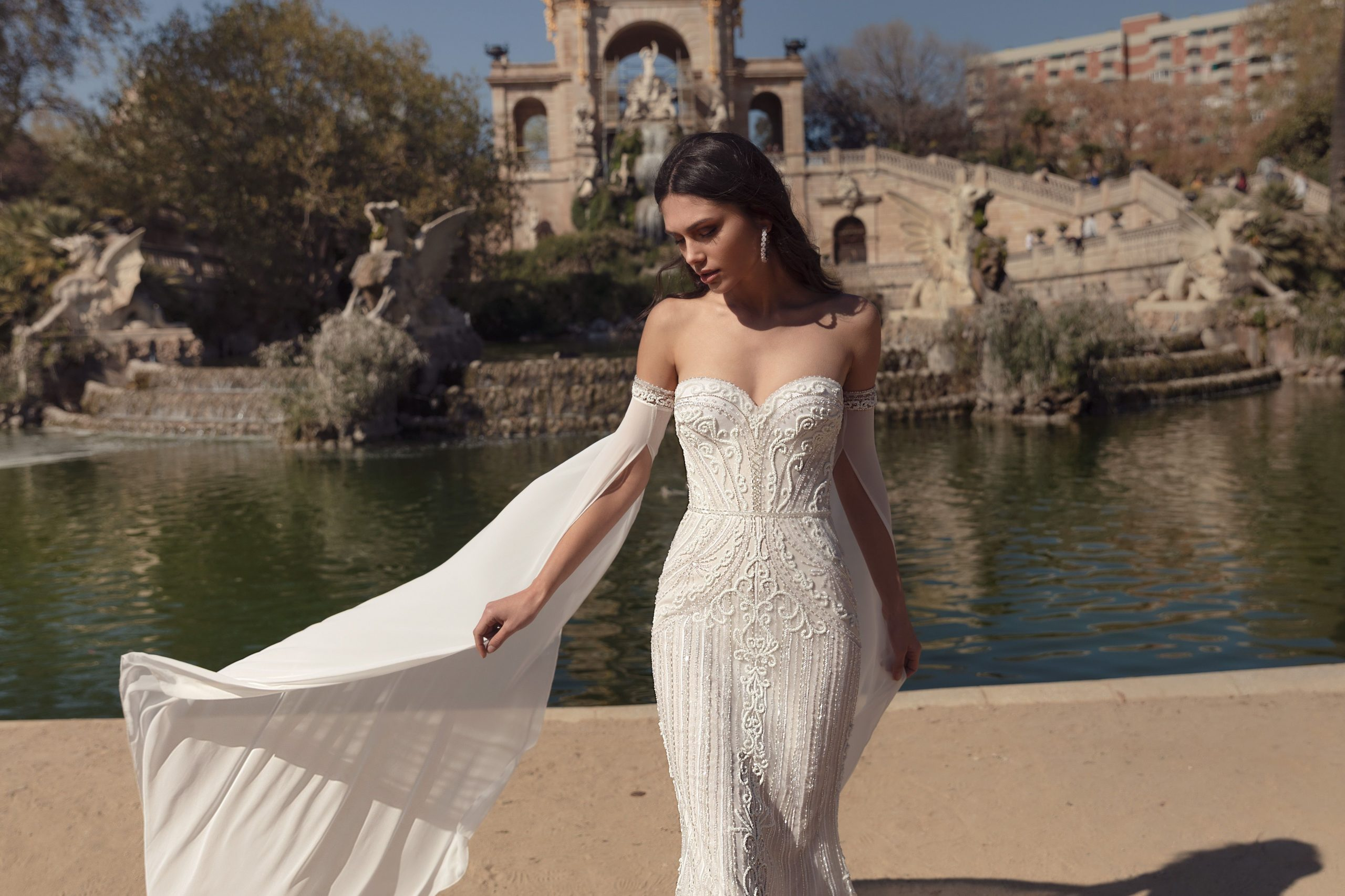 Alba 1807 From The Julie Vino Barcelona Collection | Wedding