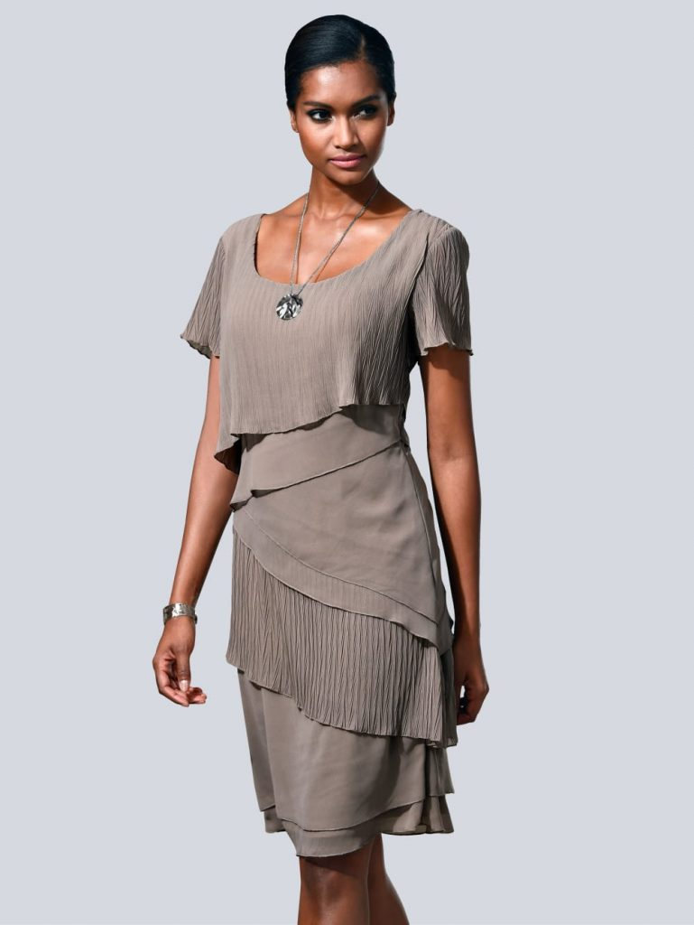 Alba Moda Kleid In Modischem Lagenlook  Alba Moda - Abendkleid