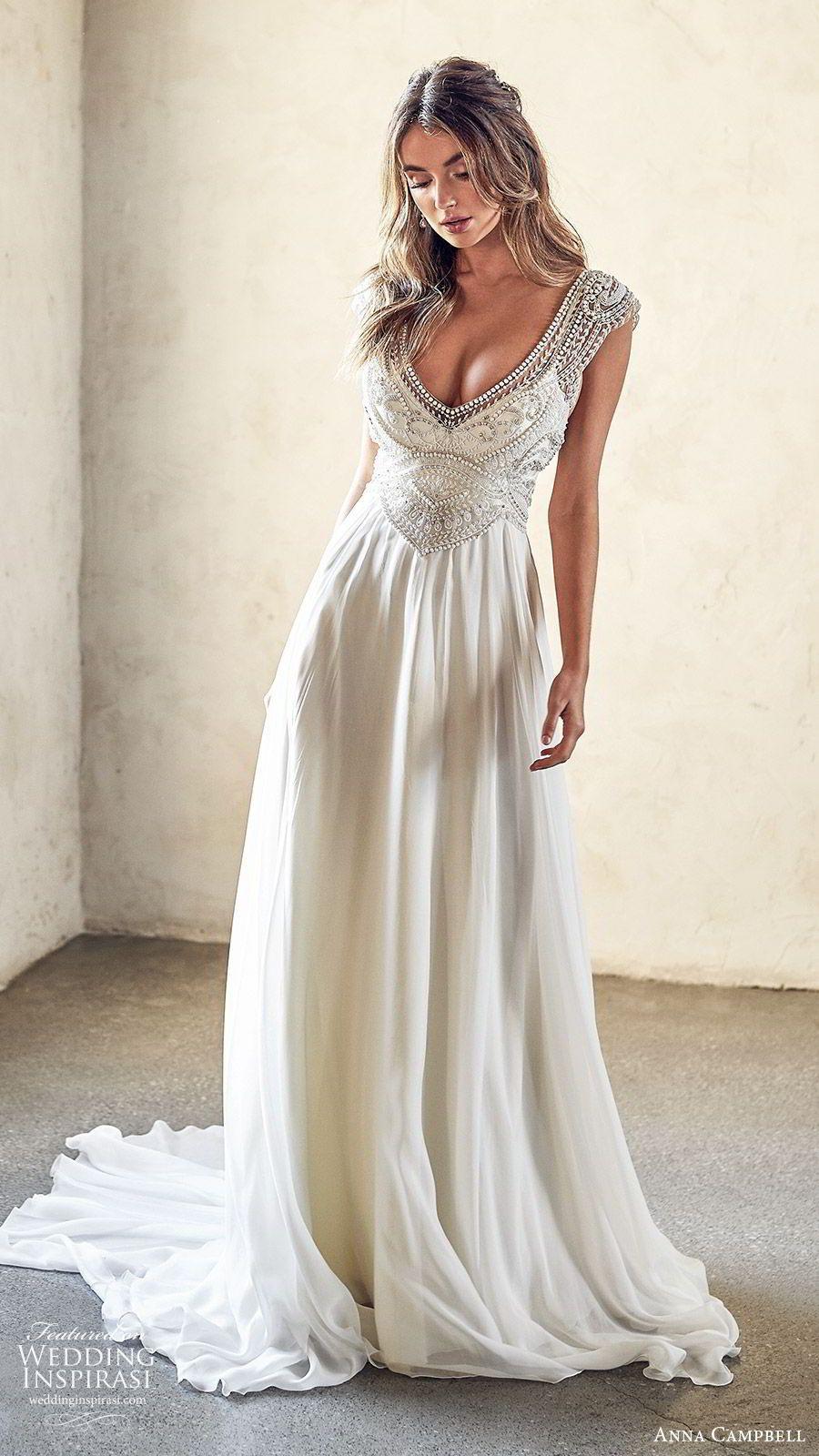 "Anna Campbell 2020 Wedding Dresses — ""Lumière"" Bridal"