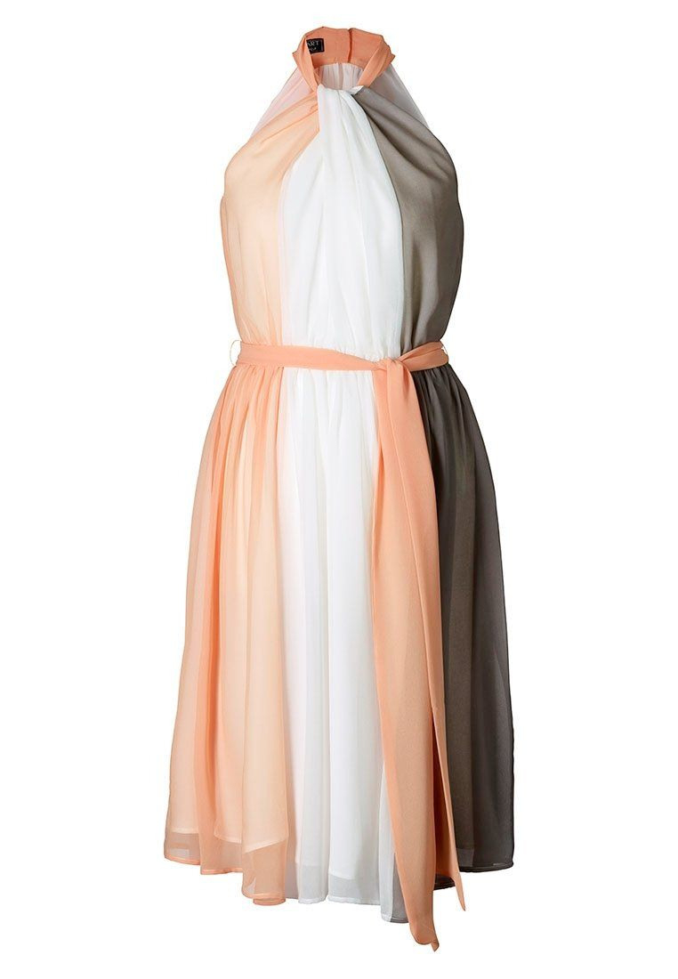 Apart - Cocktailkleid / Festliches Kleid - Apricot/creme