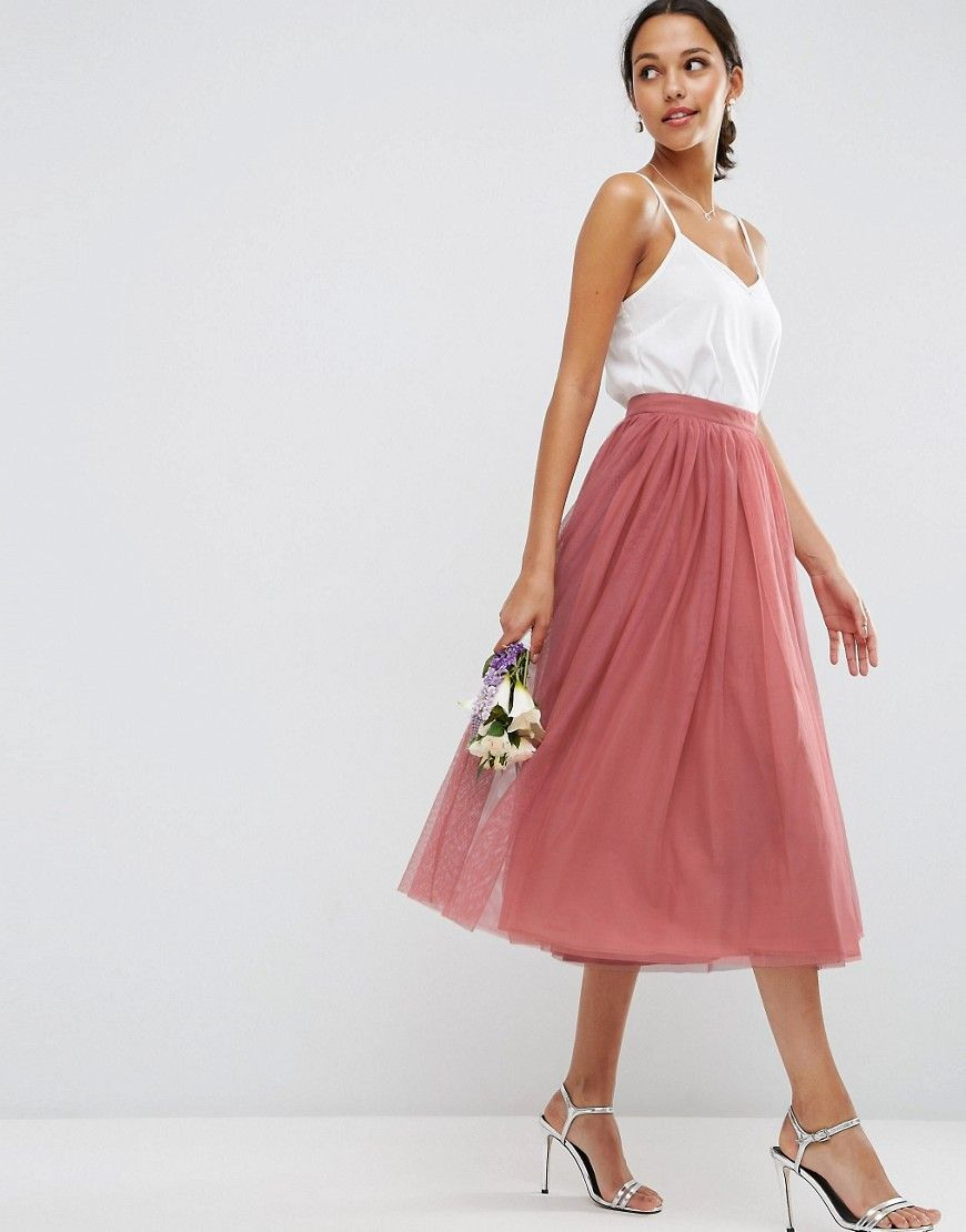 Asos+Wedding+Tulle+Prom+Skirt+With+Multi+Layers | Bridemaid