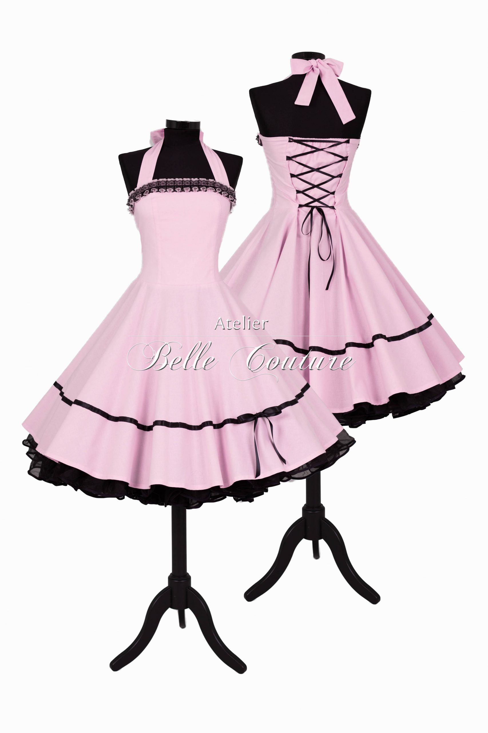 Atelier Belle Couture | Petticoat Kleid Abiball Jugendweihe Brautjungfer