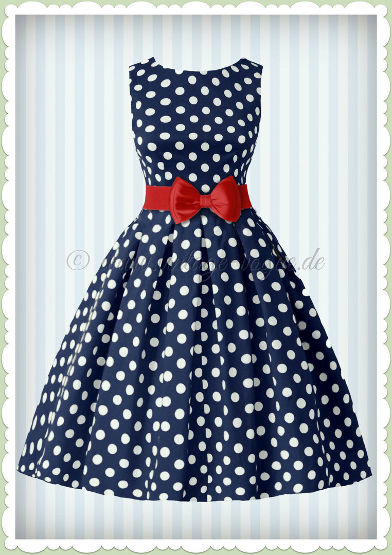 Abend Cool Kleid Blau Gepunktet Galerie13 Wunderbar Kleid Blau Gepunktet Ärmel
