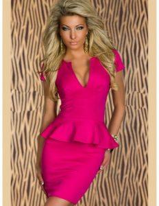 Ausgezeichnet Kleid Pink Galerie - Abendkleid