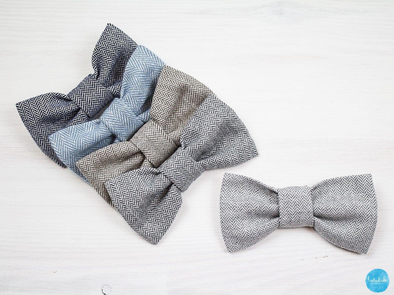 Baby Junge Kinderfliege Aus Tweed Fliege Ringträger Outfit