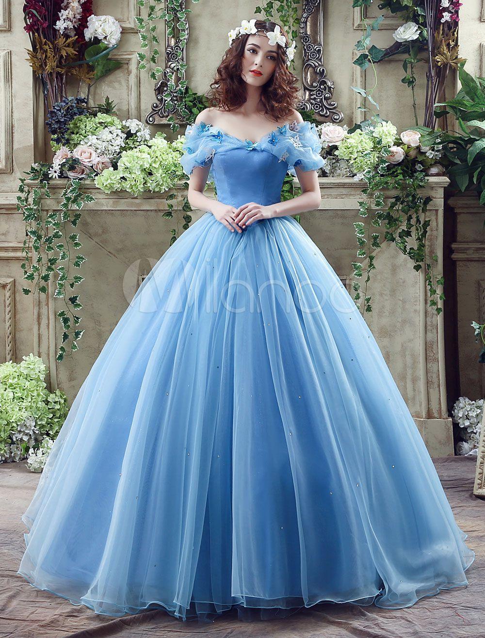Ballkleider A-Linie- Ball Kleider Hochzeit Tüll Prinzessin