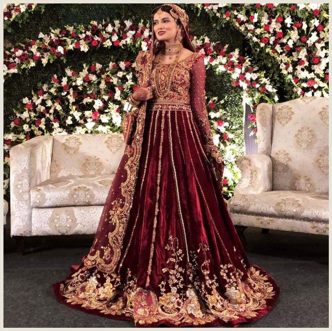 Barat! In 2019 | Pakistanische Hochzeitskleider, Indische