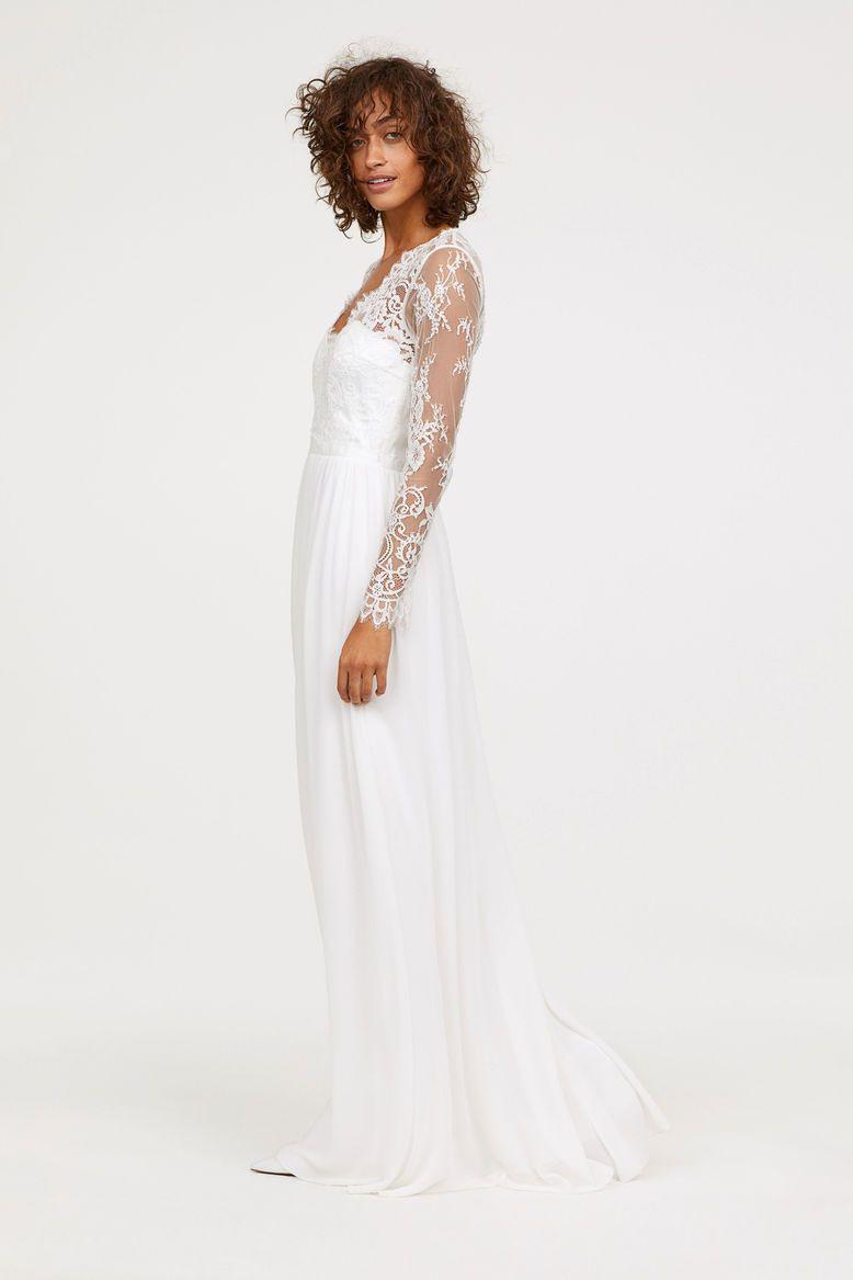 Bei H&m Gibt Es Kate Middletons Hochzeitskleid Jetzt In