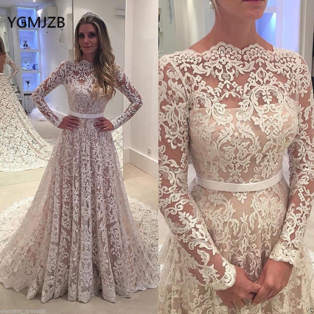 Billige Kaufen Vestido De Noiva 2018 Vintage Hochzeit Kleid