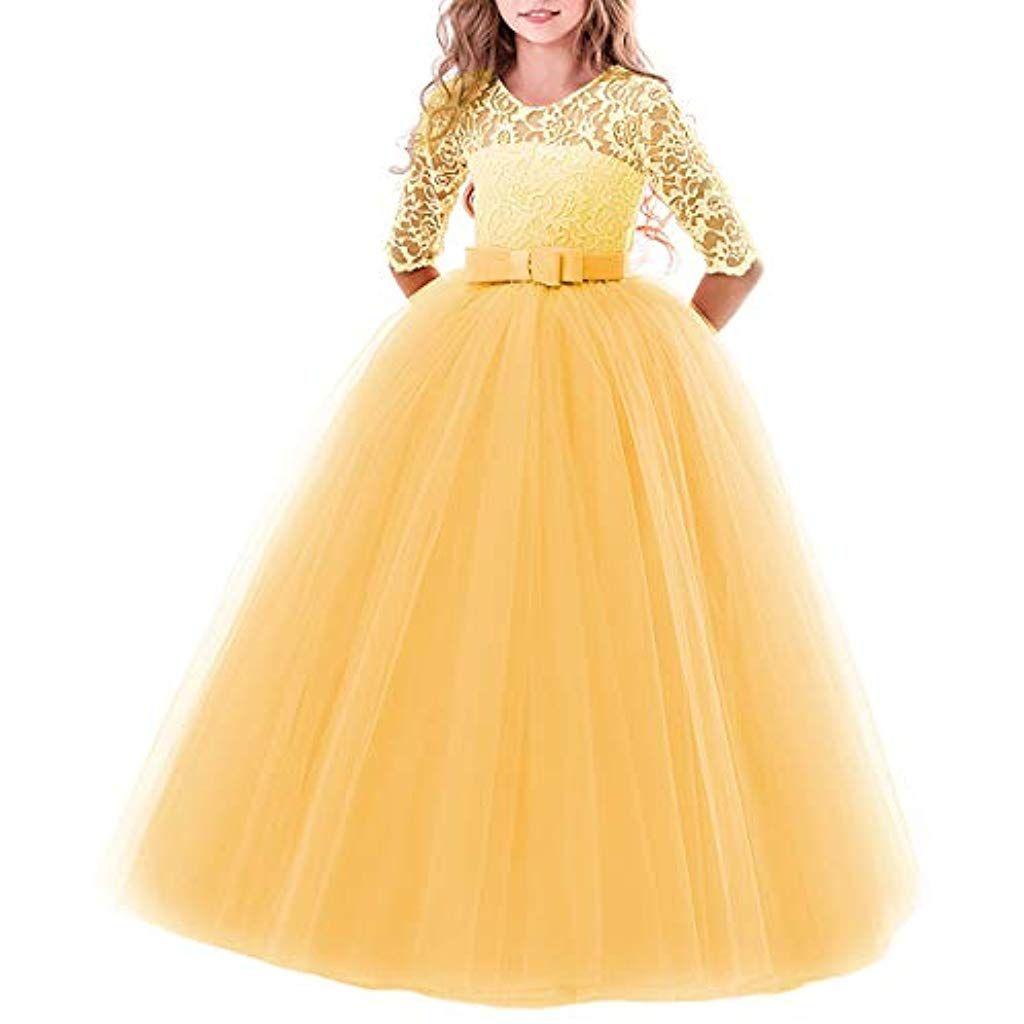 Blumensmädchenkleid Prinzessin Festliches Kinder Mädchen