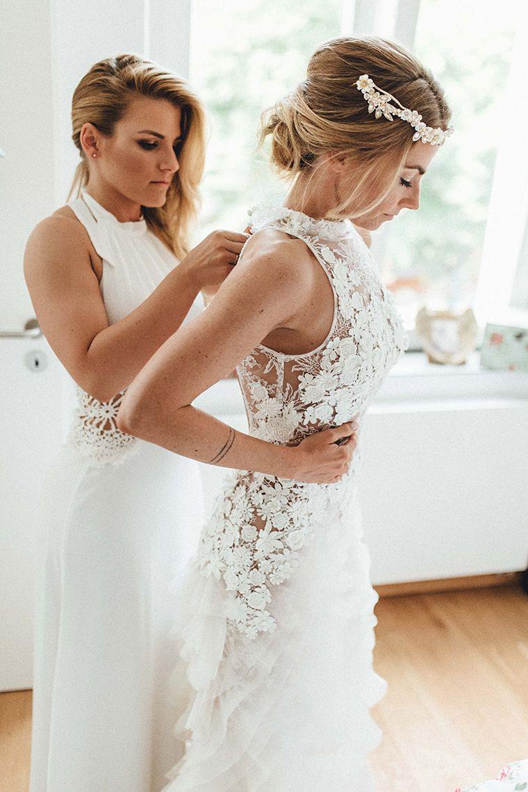 Bohemian Glam Hochzeit | Brautmode, Hochzeit Kleidung Und