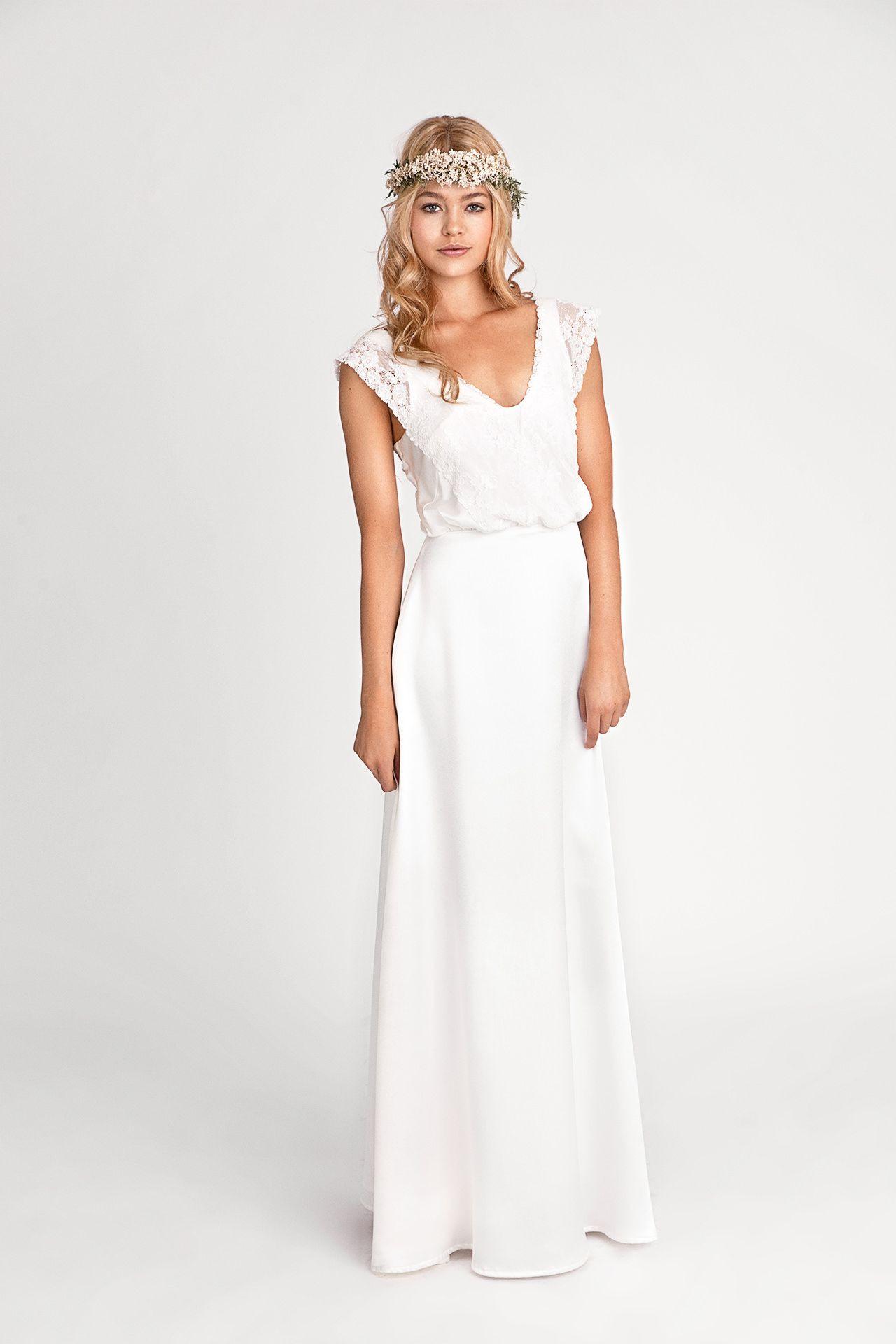 Boho-Brautkleider 2019/2020: Diese Kleider Sind Einfach