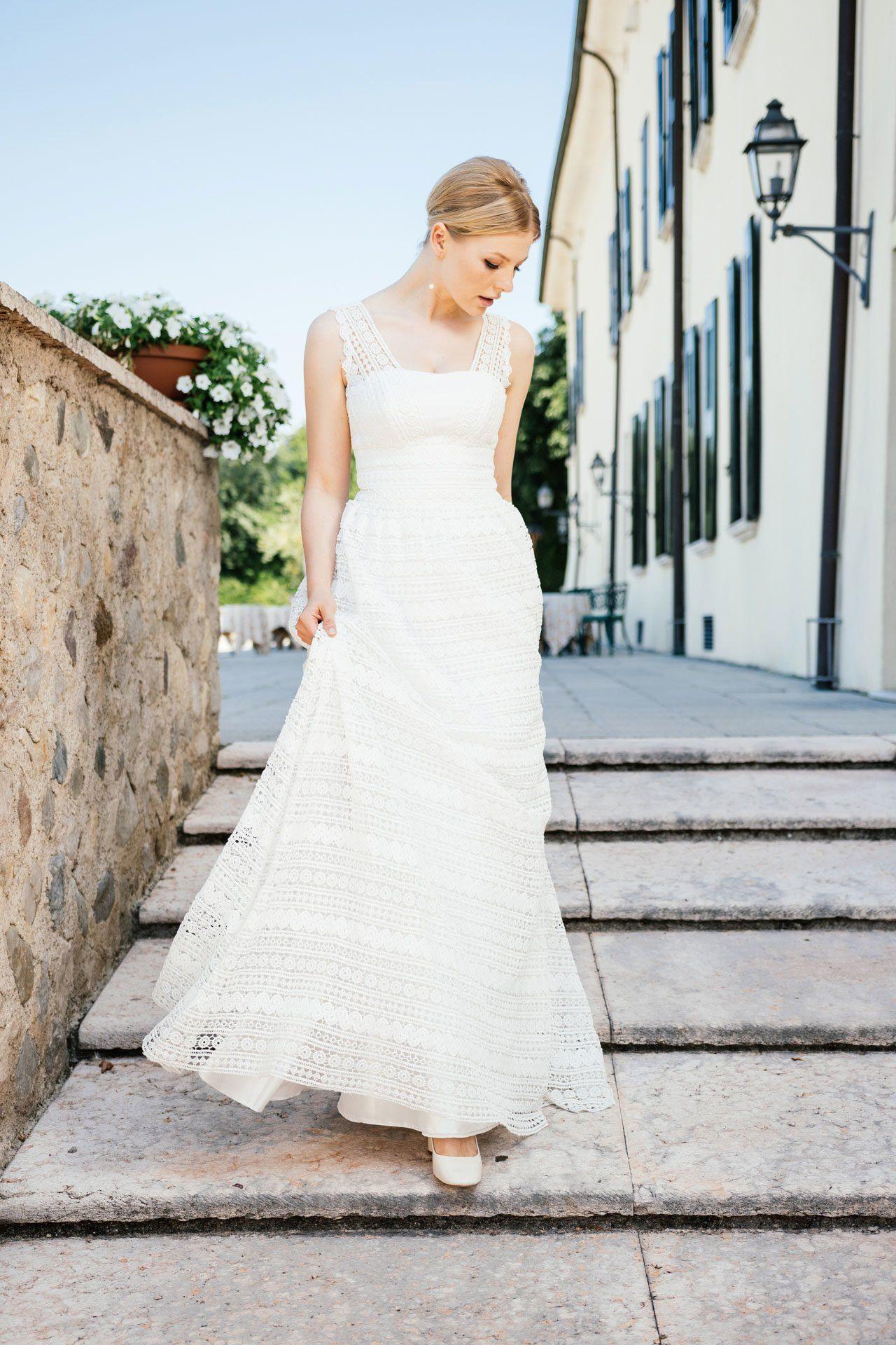 Boho Brautkleider Im Hippie Style | Brautmode, Braut, Brautkleid