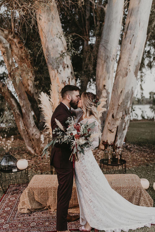 Boho Chic Sevilla Hochzeit Mit Einem Flirty Lace Wedding