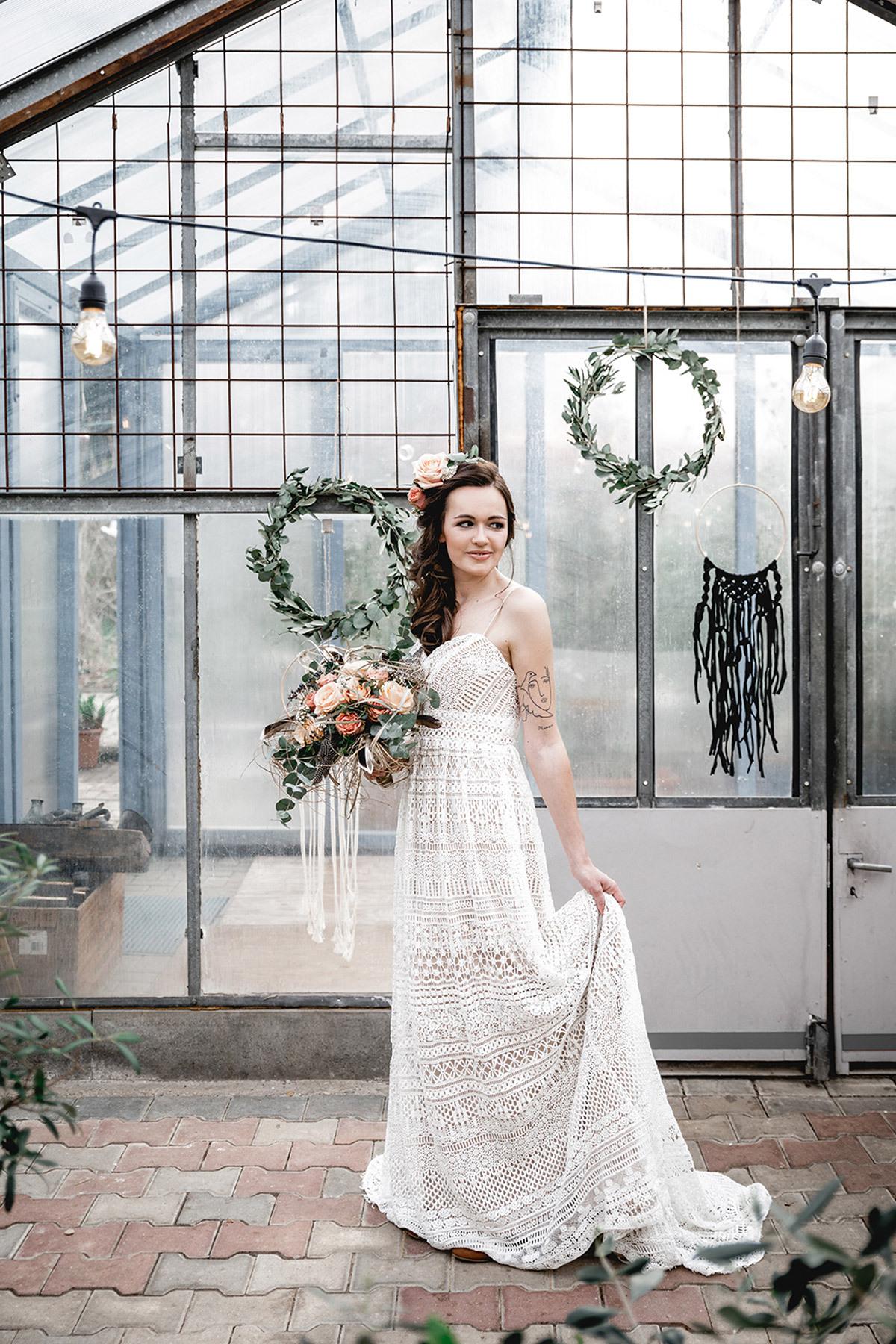 Boho Hochzeit Kleid In Love Leipzig - Bonbon Villa
