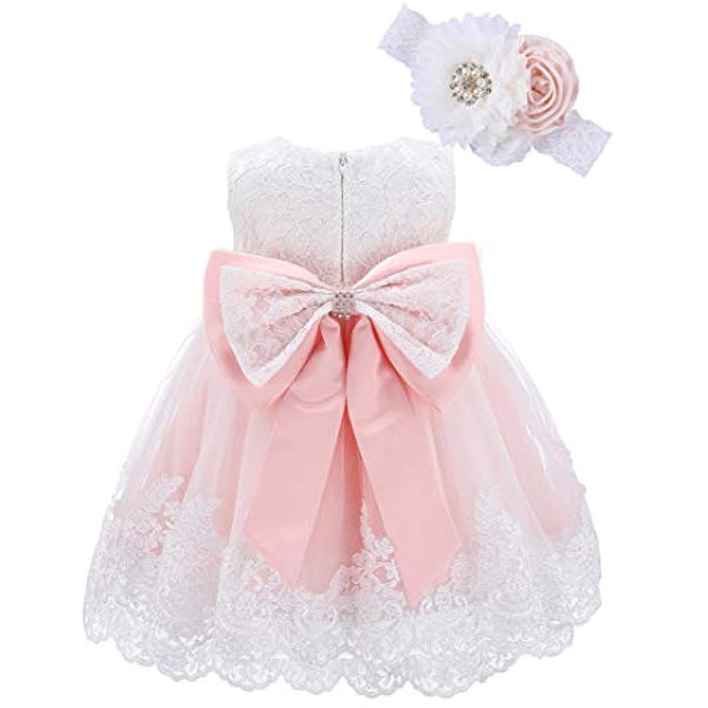 Bow Dream Baby Mädchen 0-24 Monate Kleider Prinzessin