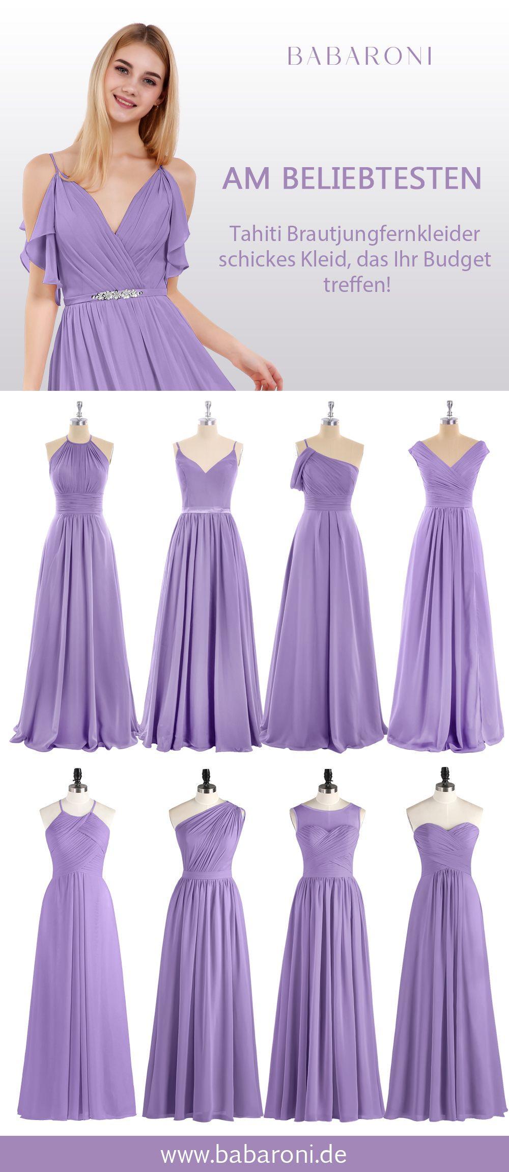 Brautjungfernkleider | Kleider Für Festliche Anlässe, Lila