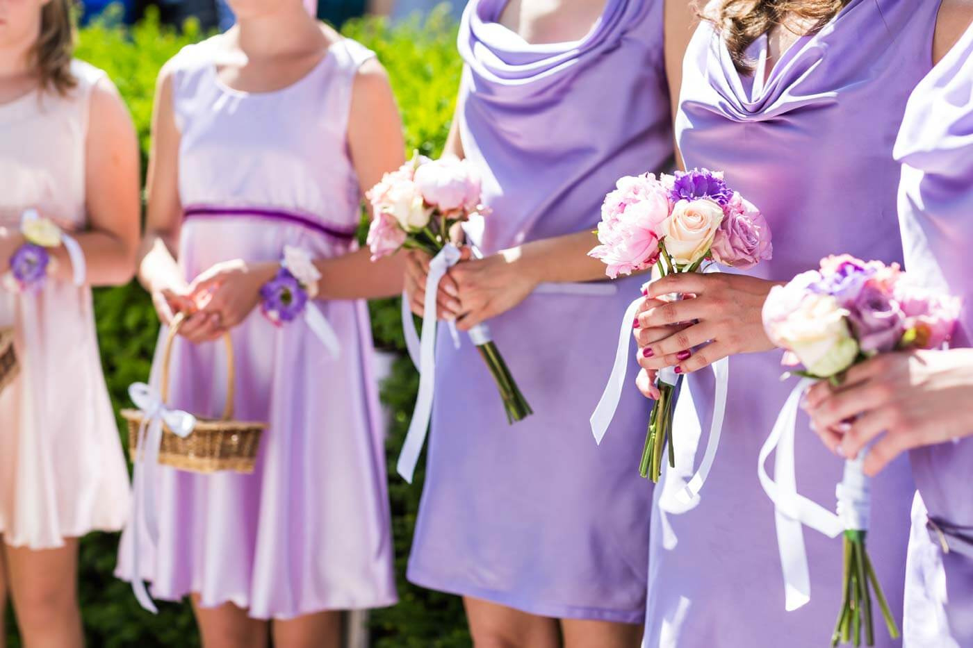 Brautjungfernkleider Lila   Infos & Inspirationen Für Tolle