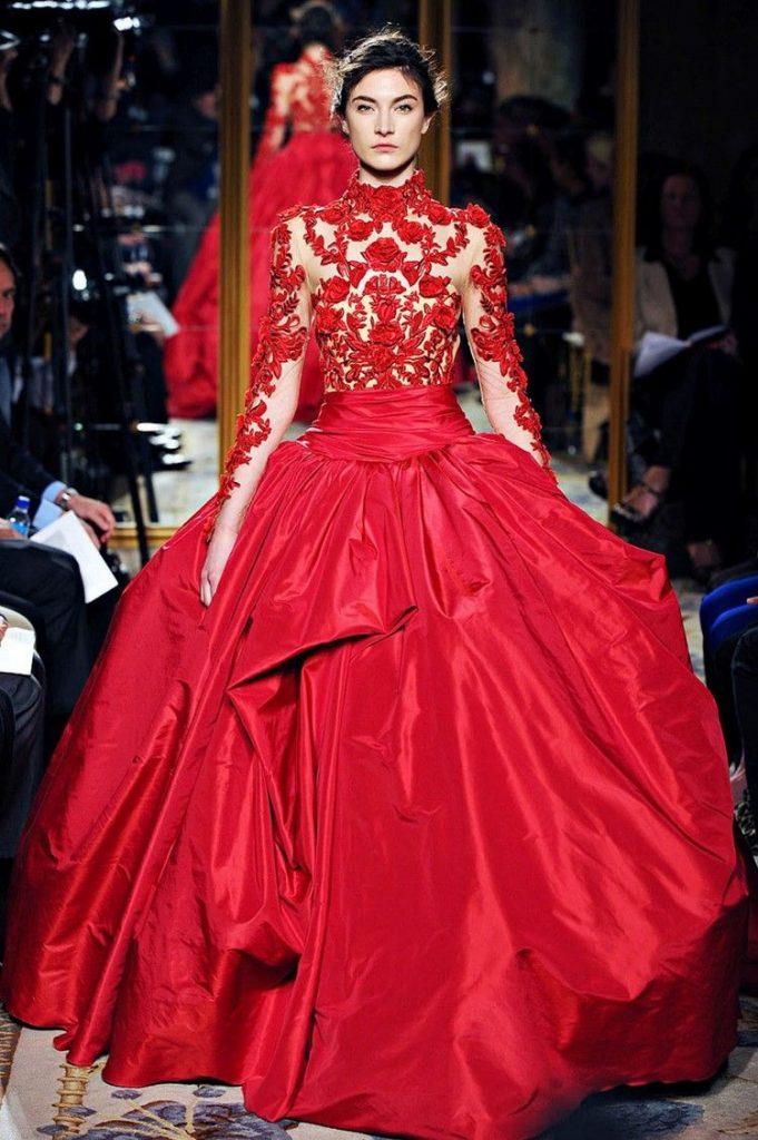 Brautkleid In Rot - Bedeutung Der Farbe Und Tipps Für
