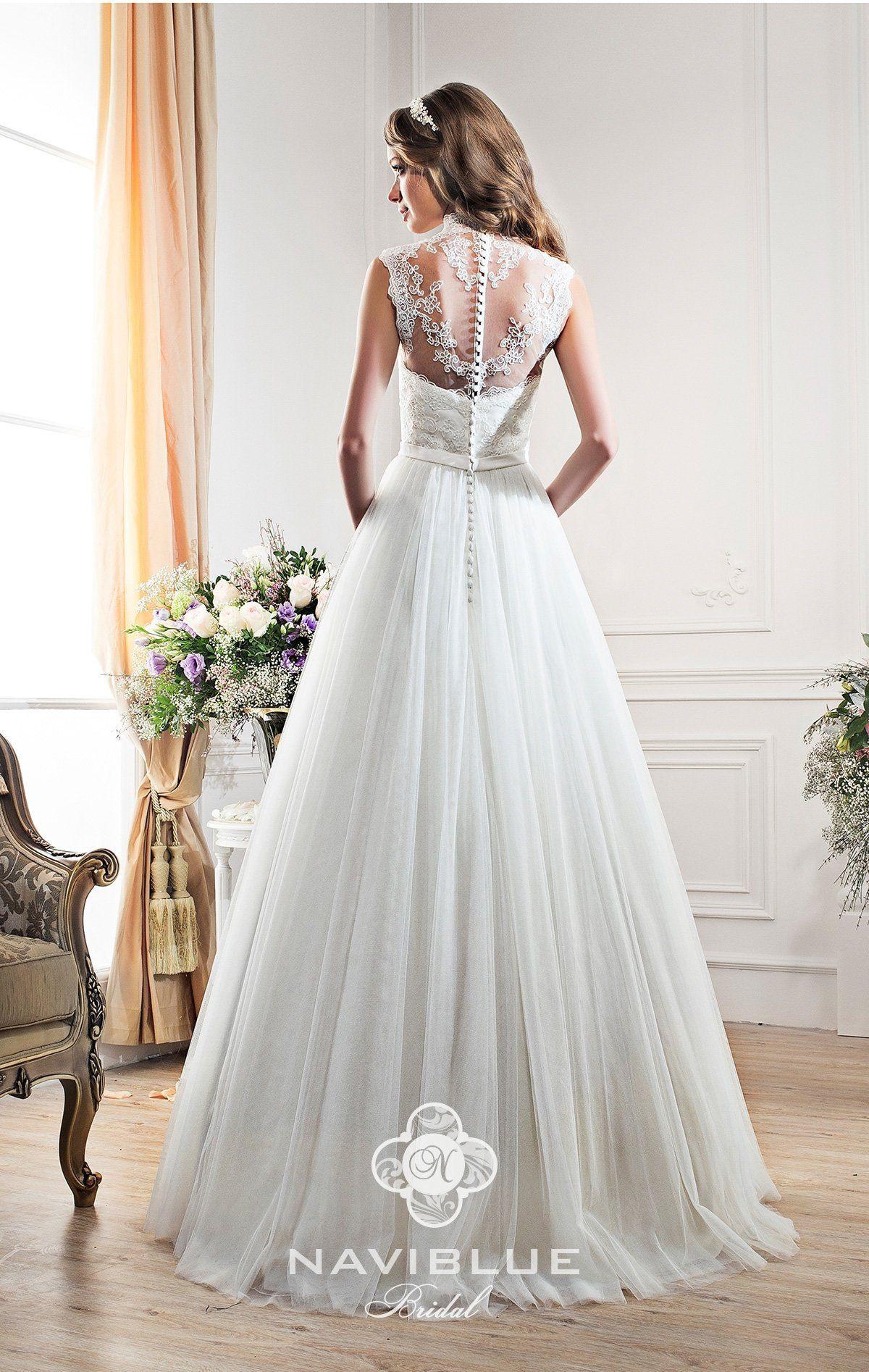 Brautkleid Jena Www.lavie-Brautmode.de   Sleeveless Wedding