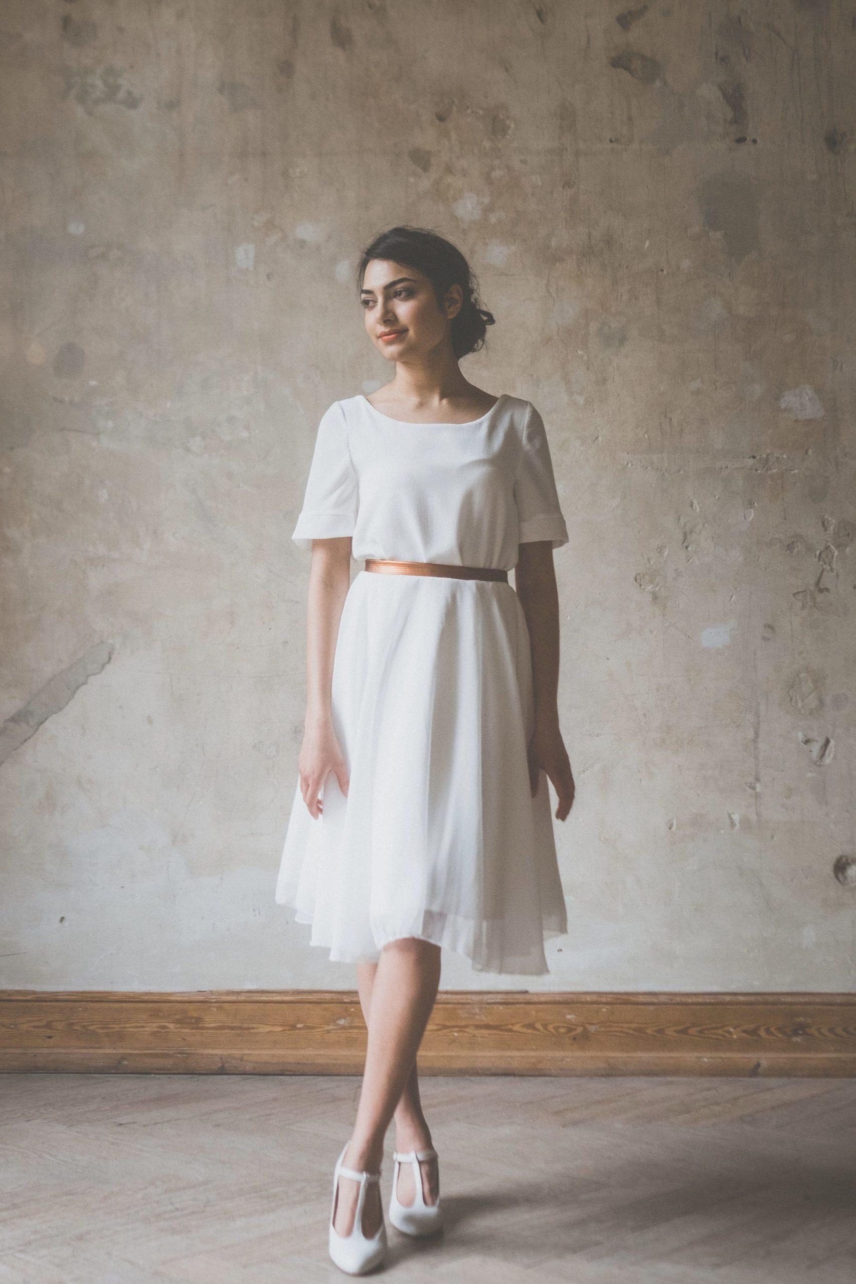 Brautkleid Kurz Für Standesamt #brautkleid #standesamt #kurz