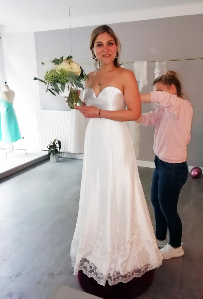Brautkleid Leipzig - Atelier 3 Kleider - Individuelle