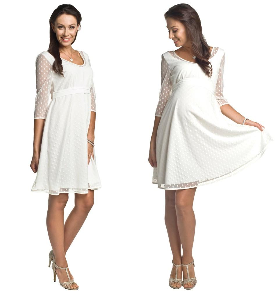 Brautkleid Nicht Nur Für Schwangere Marina, Umstandskleid Festlich,  Damenkleid, Hochzeitskleid