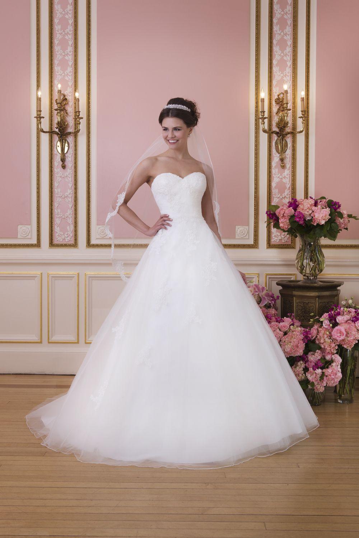 Brautkleid Sweetheart Style 6035 Tüll Prinzessin   Ballkleid