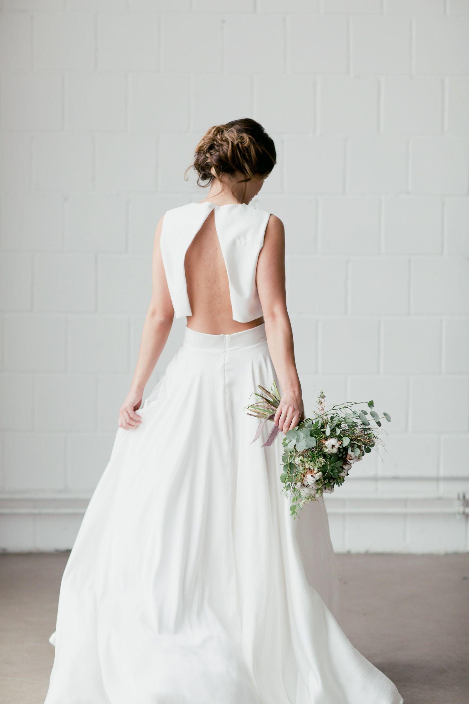 Brautkleid Zweiteiler Hazel | Braut, Brautmode Und Kleid