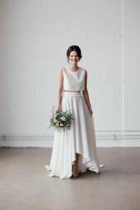 Brautkleid Zweiteiler Hazel In 2020   Kleid Hochzeit