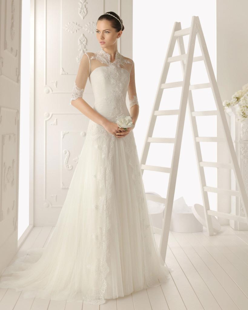 Brautkleider Aire Barcelona - Spanische Brautmode - Abendkleid