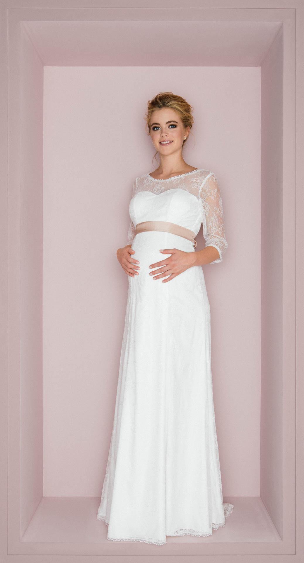 Kleid Für Hochzeit Schwanger - Abendkleid